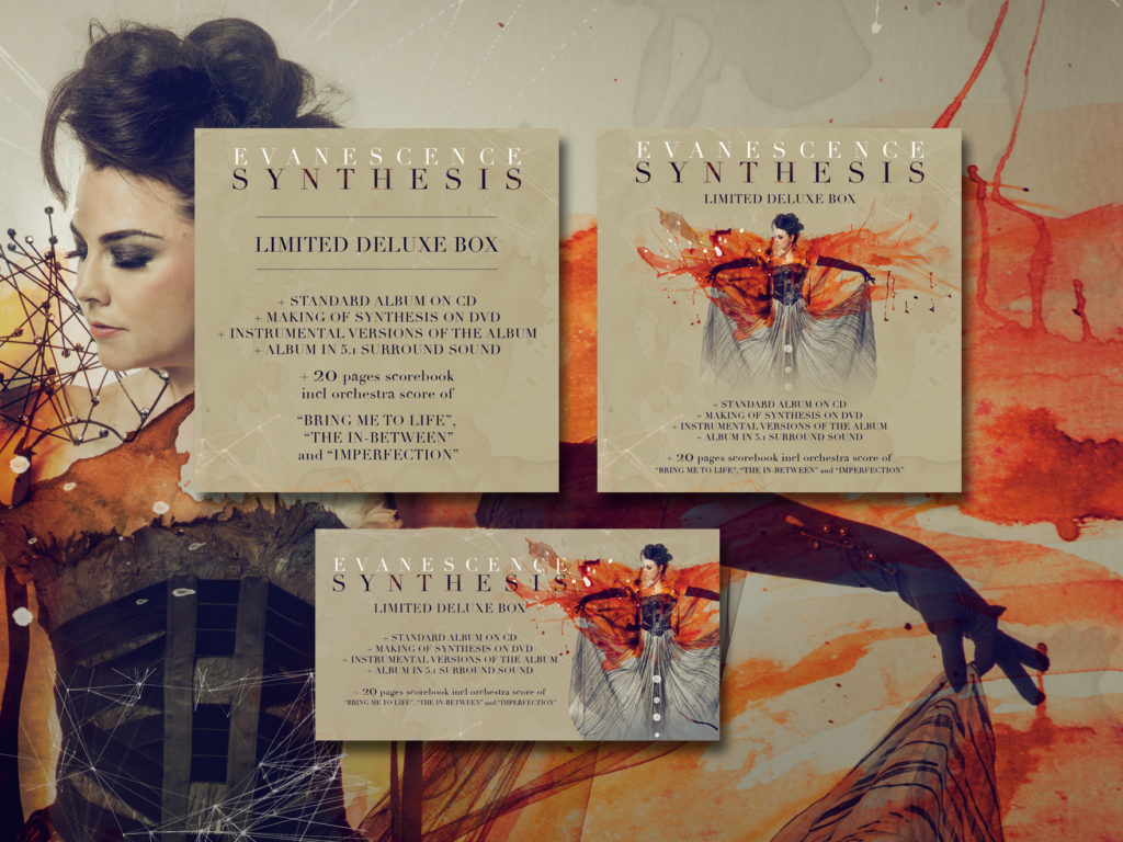 Evanescence neues Album Synthesis Online Banner