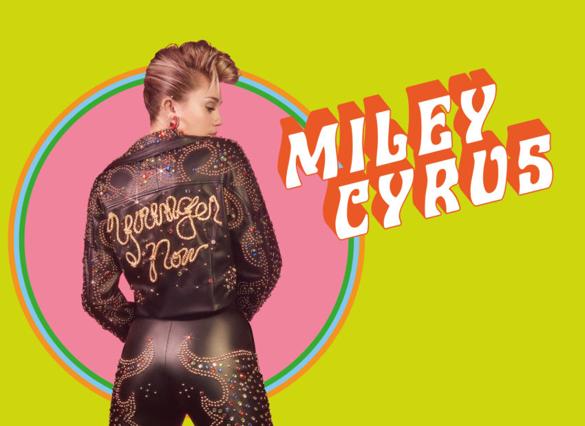 Miley Cyrus Younger now Cover