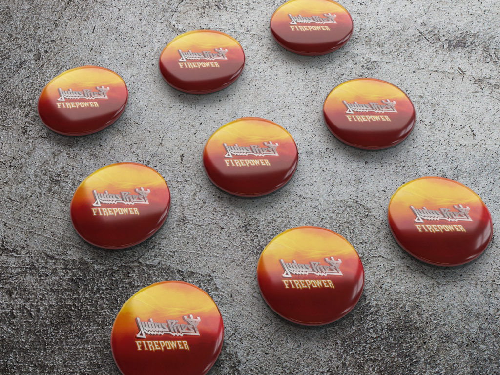 Buttons for Judas Priest