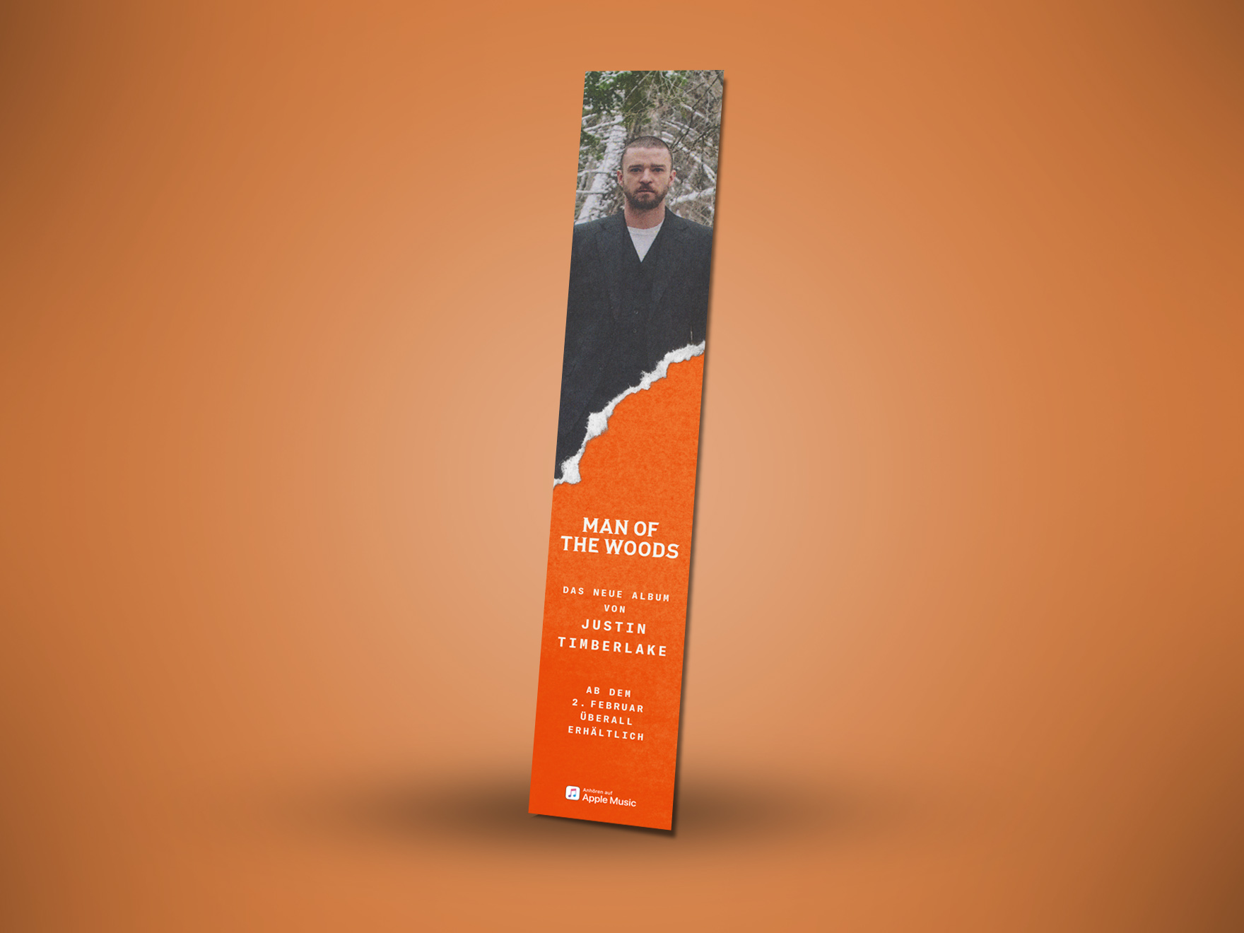 Seiten Banner ustin Timberlake Man of the Woods
