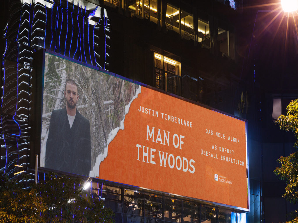 Streetfence Justin Timberlake Man of the Woods